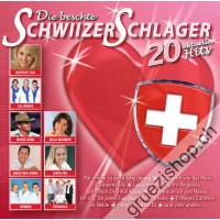 Die beschte Schwiizer Schlager - 20 aktuelle Hits