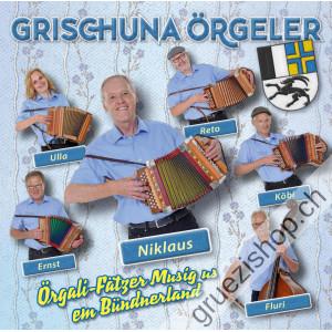 Grischuna Örgeler - Örgeli-Fätzer Musig us em Bündnerland