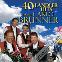 40 Ländler-Hits mit em Carlo Brunner