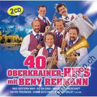 40 Oberkrainer-Hits mit Beny Rehmann
